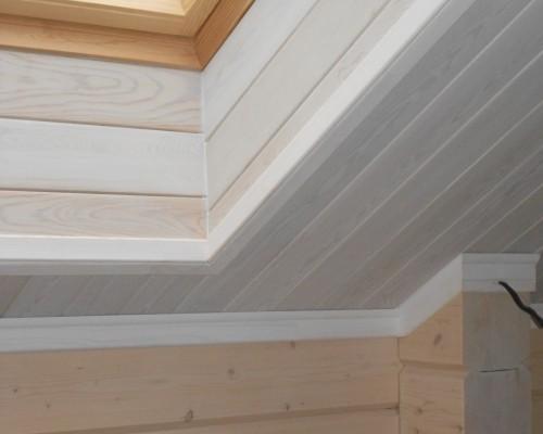 Meister lambris france prix travaux batiment vannes for Plafond bois salle de bain